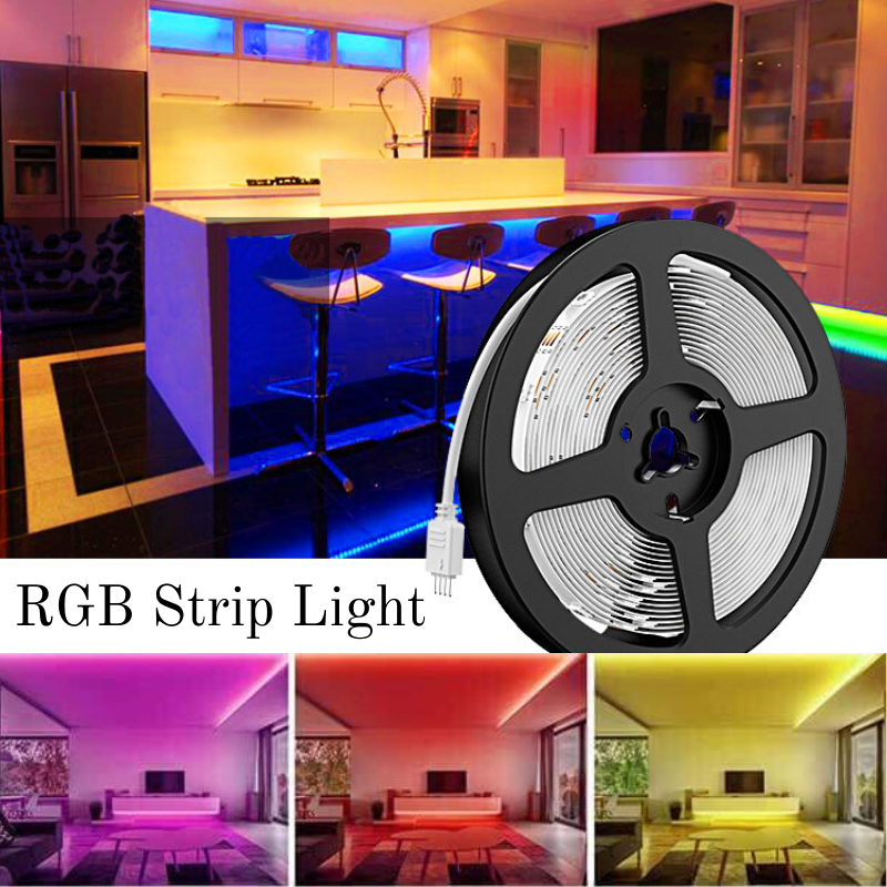 50ft Rgb Led Strip Lights Kit 15m Flexible Color Changing Lights Strip 450 Units 5050 Rgb Led Rope Lights With 24v Power Supply Rgb Led Strip Lights Led Rope Lights Strip Lighting