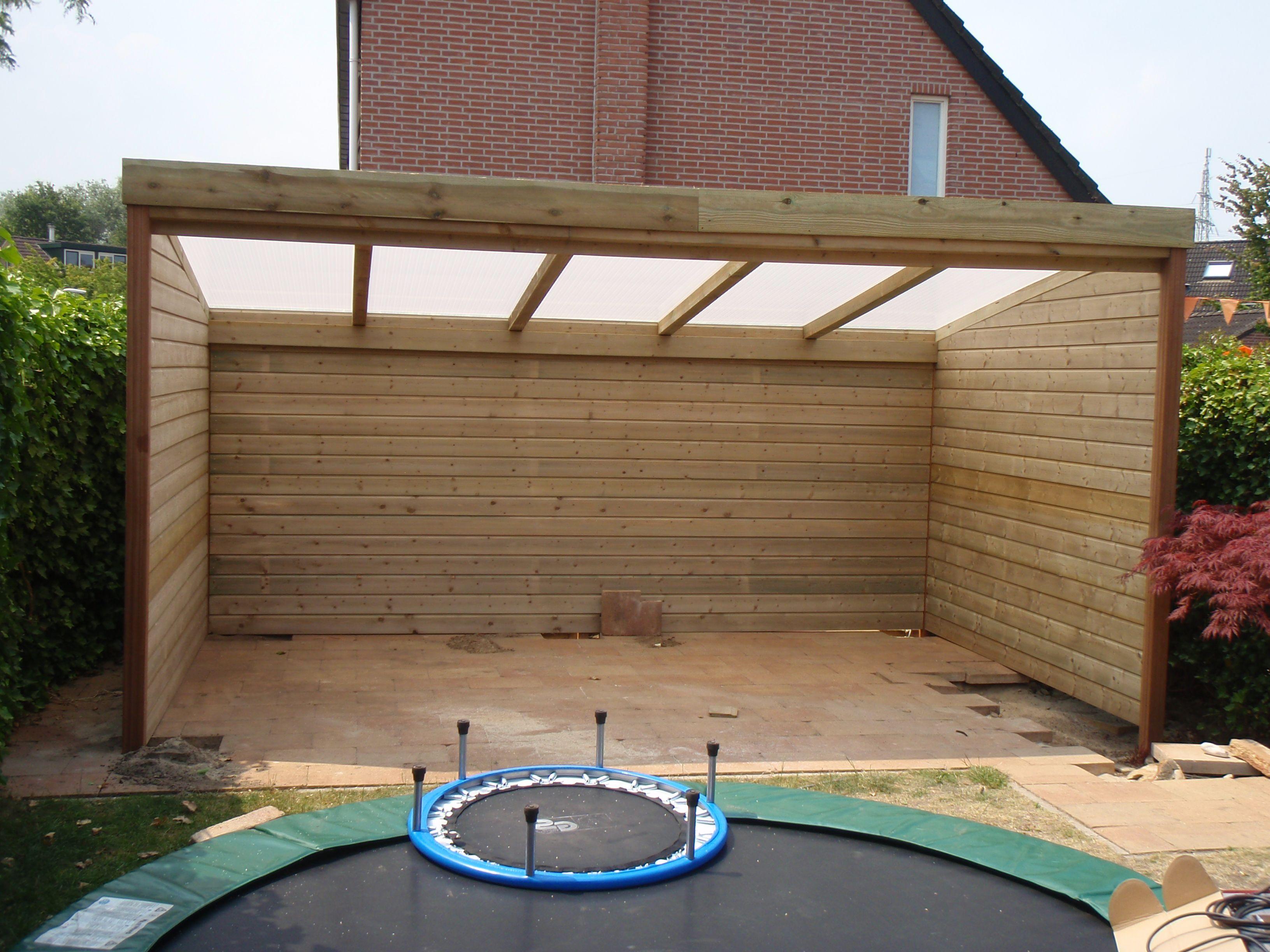 Een maatwerk veranda overkapping is een van de specialiteiten van tuinmani deze is gemaakt - Pergola dakbedekking ...
