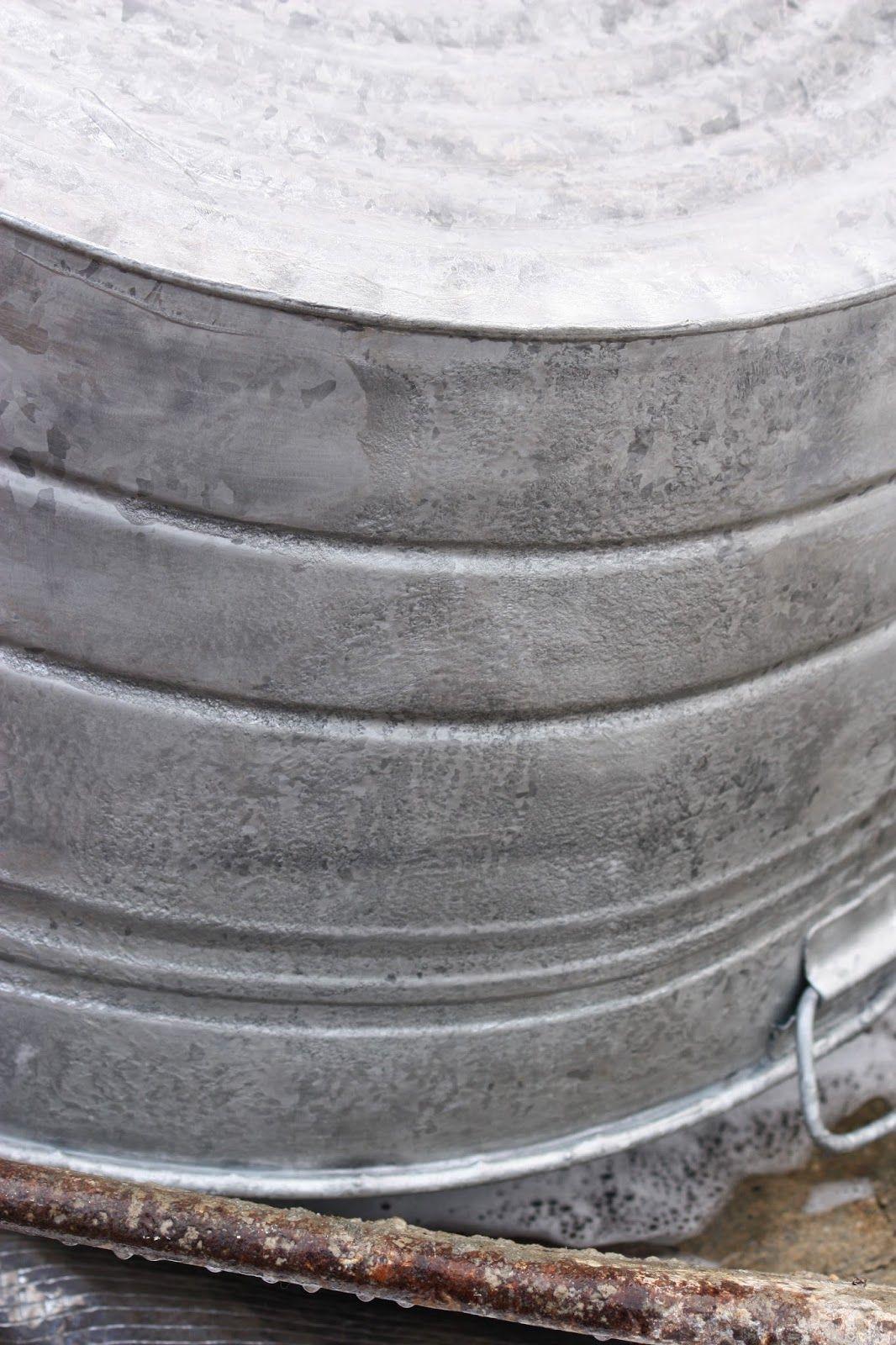 How To Age Galvanized Metal Galvanized Metal Galvanized
