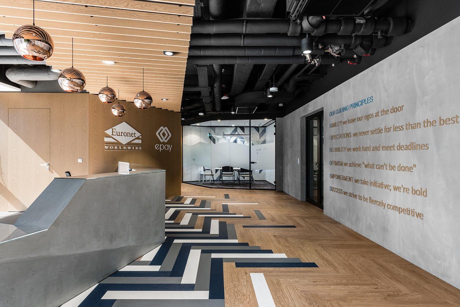 An inside look at euronets sleek warsaw office officelovin office entrance office lobby