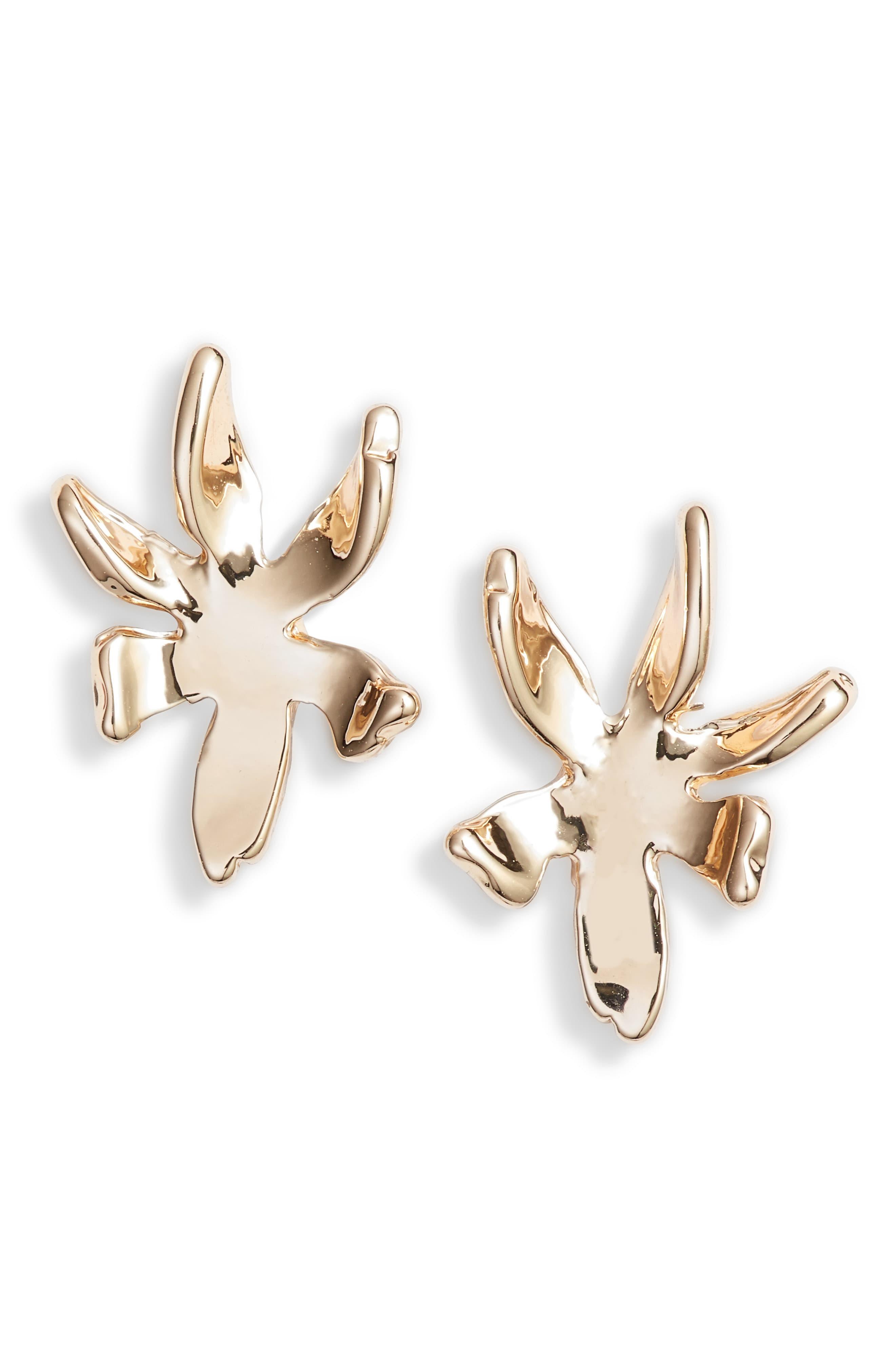 bbe5b87b3 Lele Sadoughi Lily Stud Earrings in 2019 | Products | Earrings, Stud ...