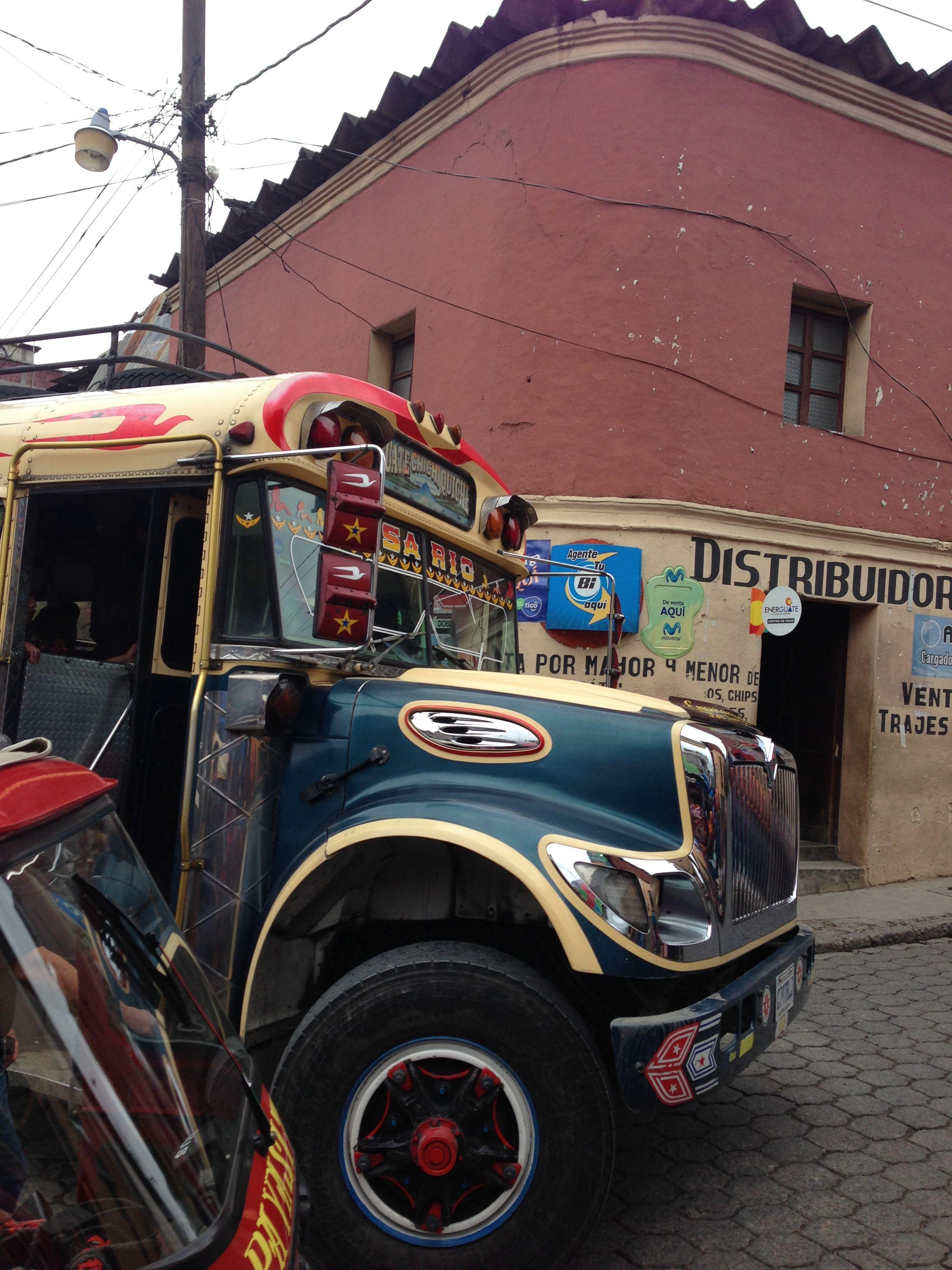 "Guatemala ""chicken bus"""