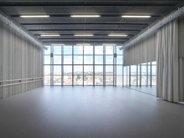 Quand Danse Classique Rime Avec Facade Metallique Architecte