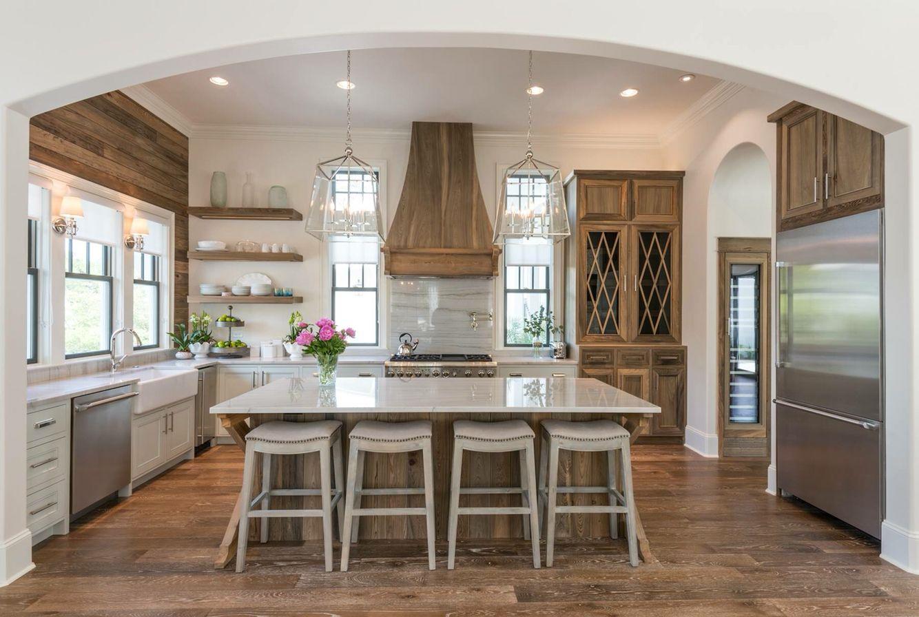 Modern & Rustic Kitchen. Old Seagrove Homes | Kitchen ideas ...
