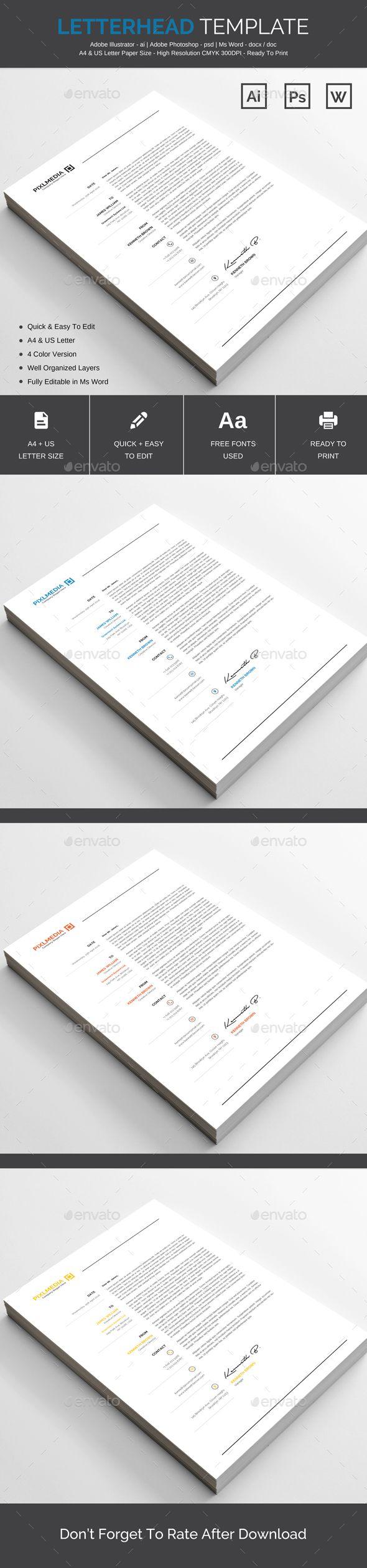 Letterhead pinterest stationery printing print templates and letterhead pinterest stationery printing print templates and letterhead design spiritdancerdesigns Gallery
