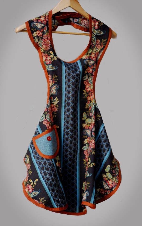 A Free Apron Pattern | Sewing | Pinterest | Schürzen, Diy nähen und ...