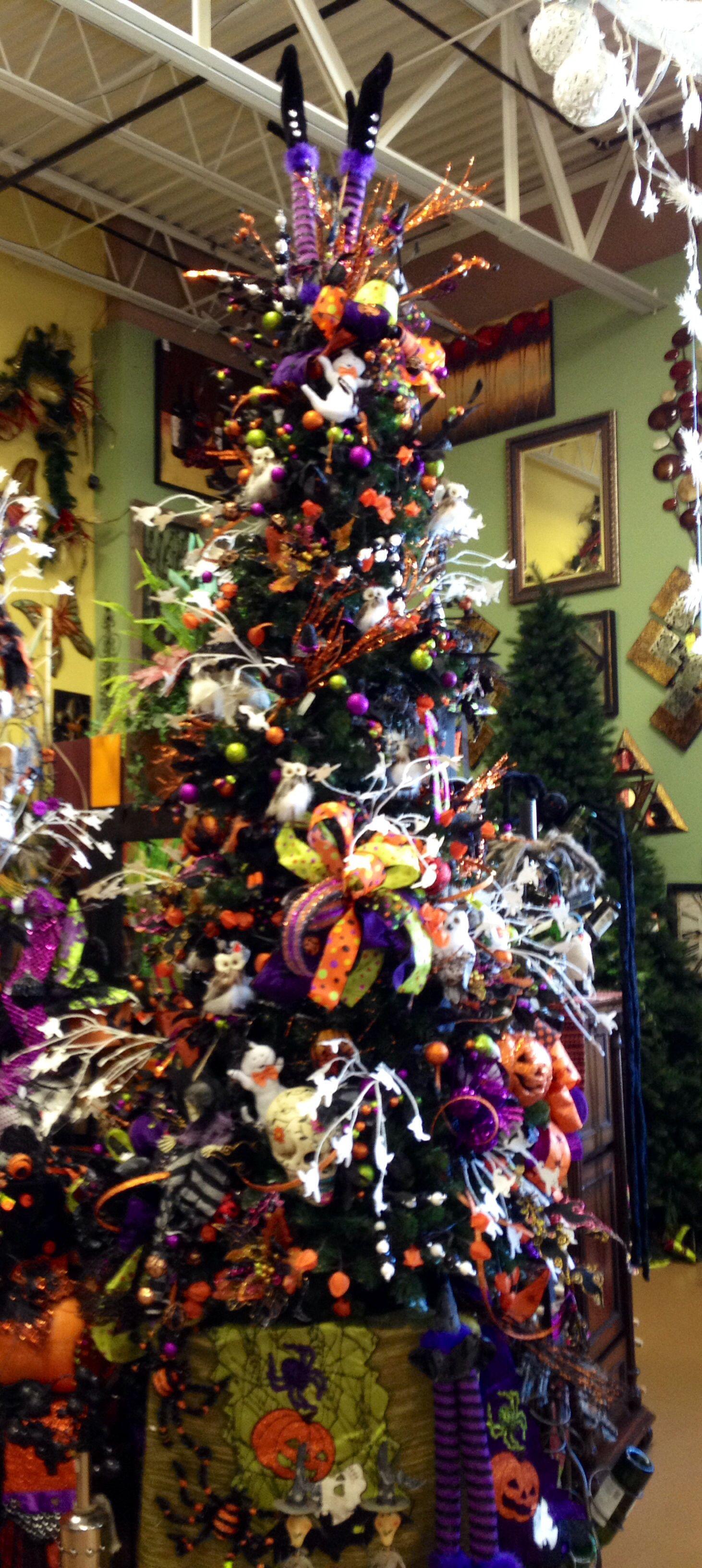 Halloween tree decoration ideas Halloween tree decorations