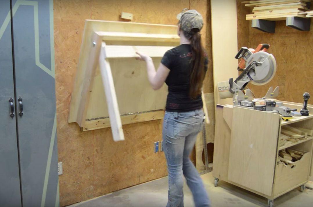 DIY Folding Workbench Wilker Do's in 2020 Folding