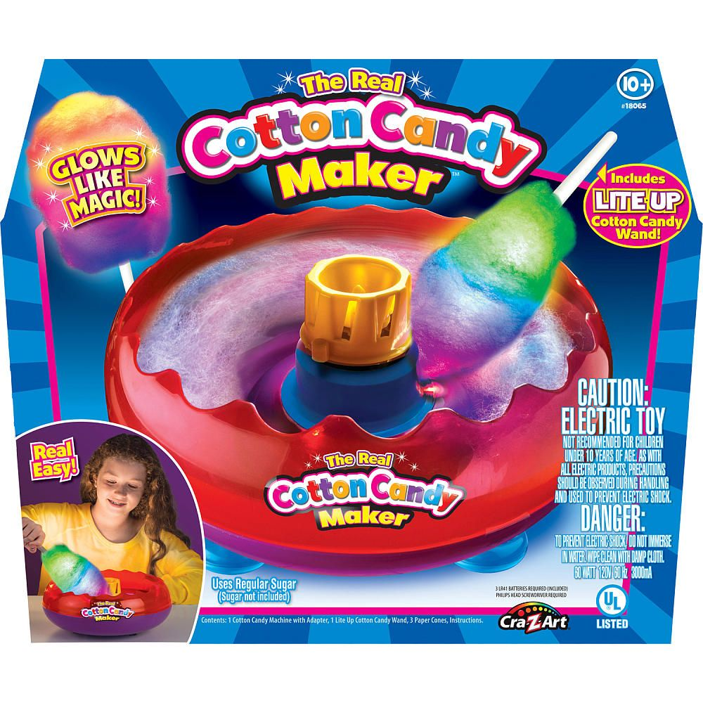 the real cotton candy maker toysrus gifts for the family