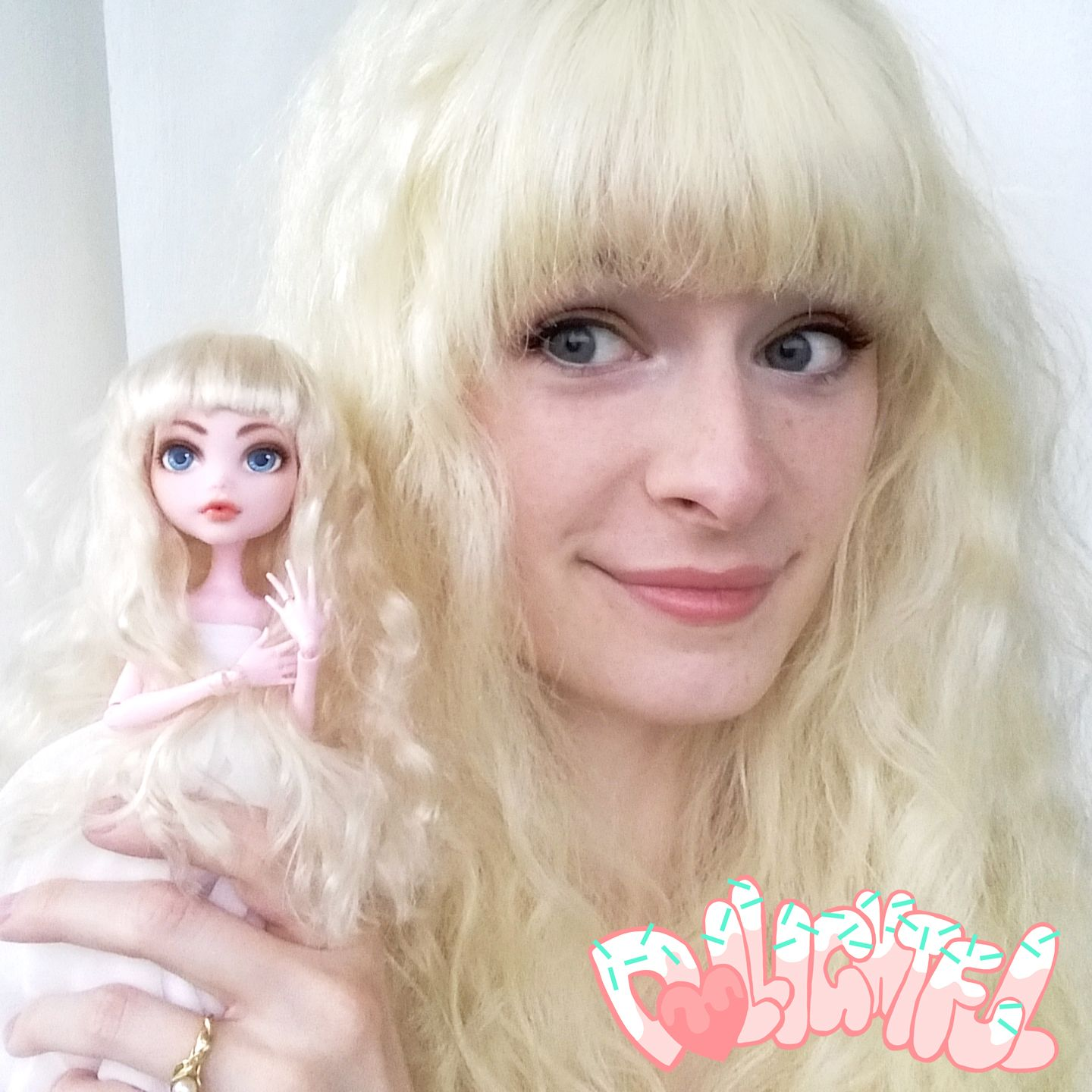 Annyeong! It's Dollightful! D facereveal Doll painting