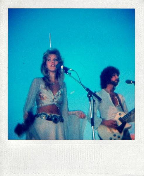 Stevie & Lindsey, Fleetwood Mac in concert in Casper, WY, September 14, 1975 (photos by Don Eddy)