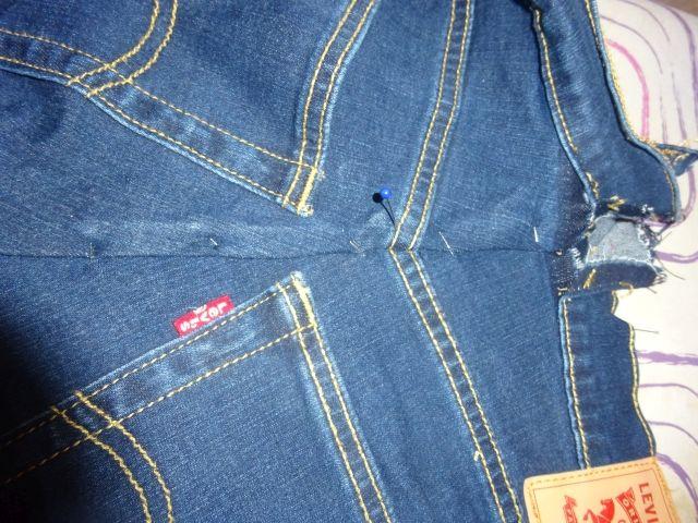 Stretch Jeans Enger Machen