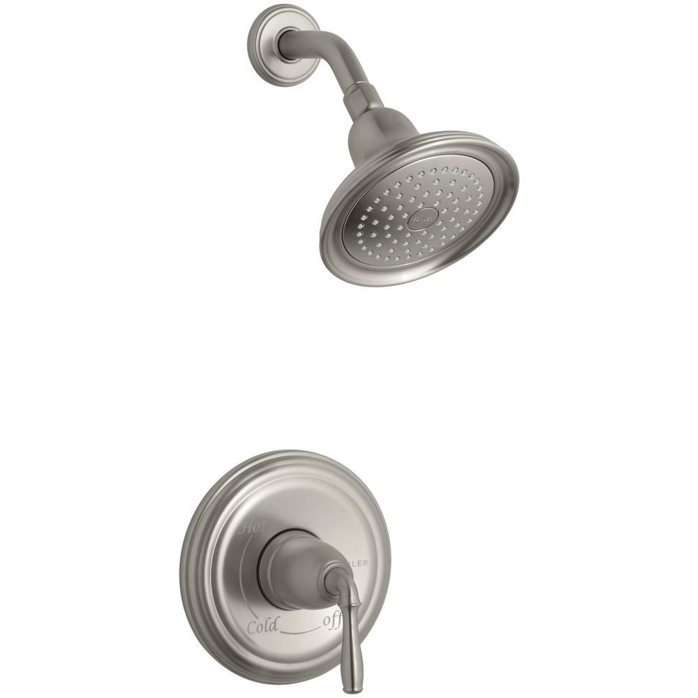 Kohler Devonshire 1 Handle Rite Temp Shower Faucet Trim Kit In