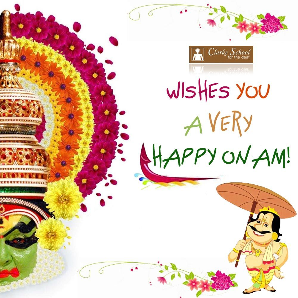 Clarke School Chennai wishes you a very HAPPY ONAM Onam