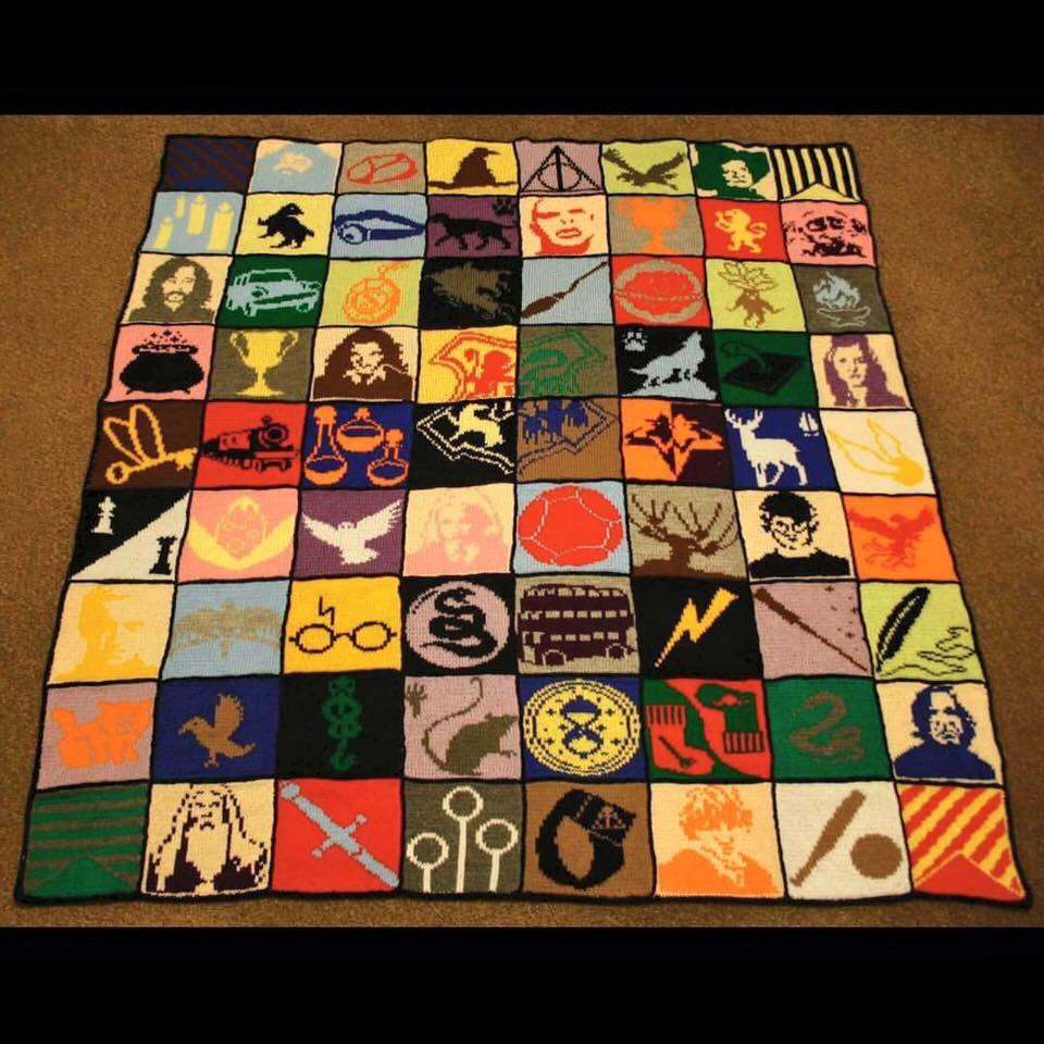 Fab Harry Potter blanket! | Hogwarts | Pinterest | Harry Potter ...