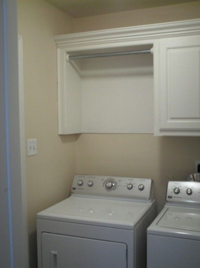 Must Have Hanging Area In Laundry Room Cabinets For Drying Rack