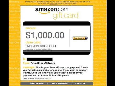 How I Got My Amazon Gift Card Easily Youtube Amazon Gift Cards Amazon Gifts Gift Card