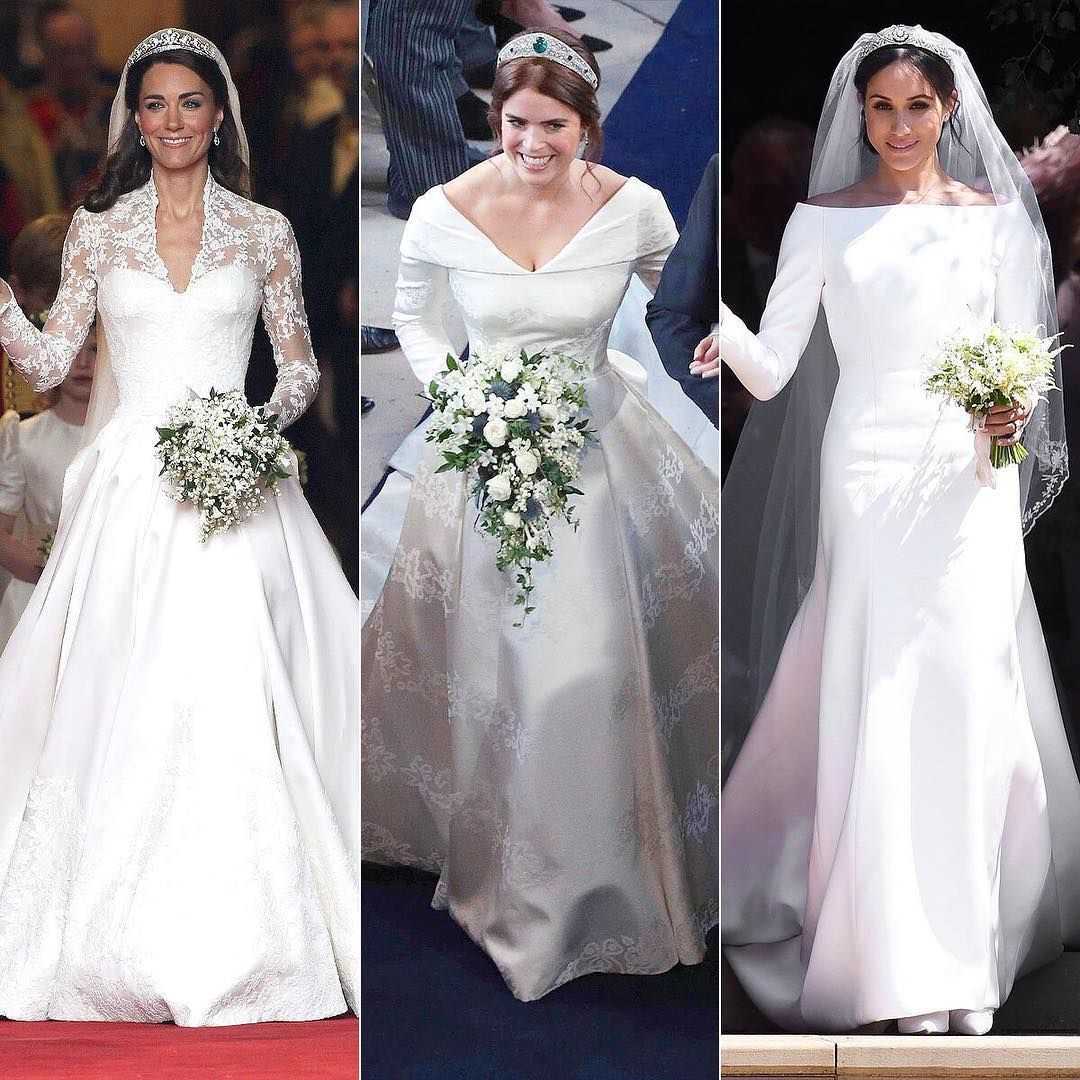 People Magazine On Instagram These Royal Brides Were All Stunning Which Look Was Your Fave Royal Wedding Gowns Royal Brides Wedding Dress Sketches [ 1080 x 1080 Pixel ]