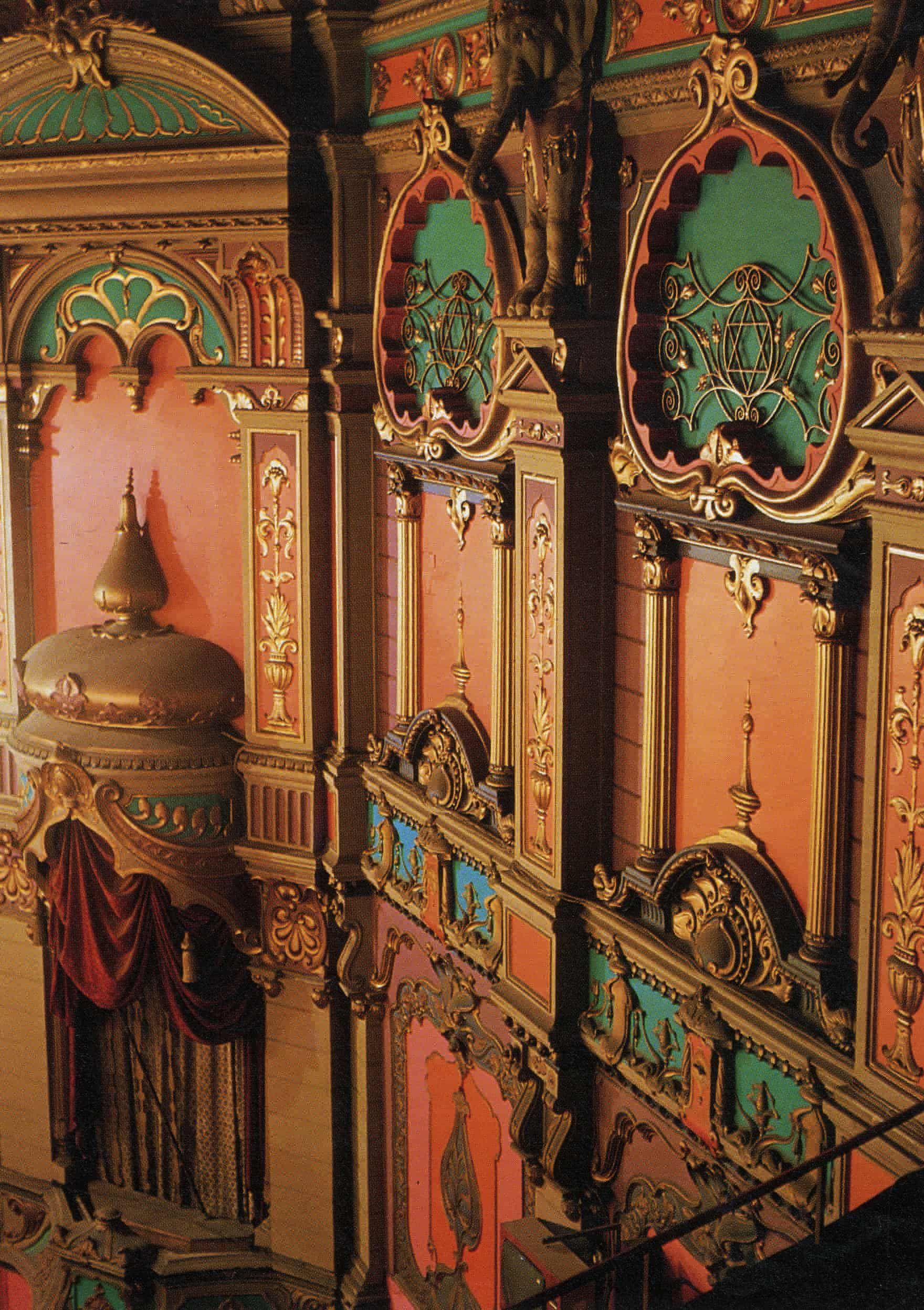 The Ornate Interior Of The Liverpool Olympia Now Eventim Olympia Reflects The Building S Past With Decorations Theatre Architecture Cave Paintings Painting