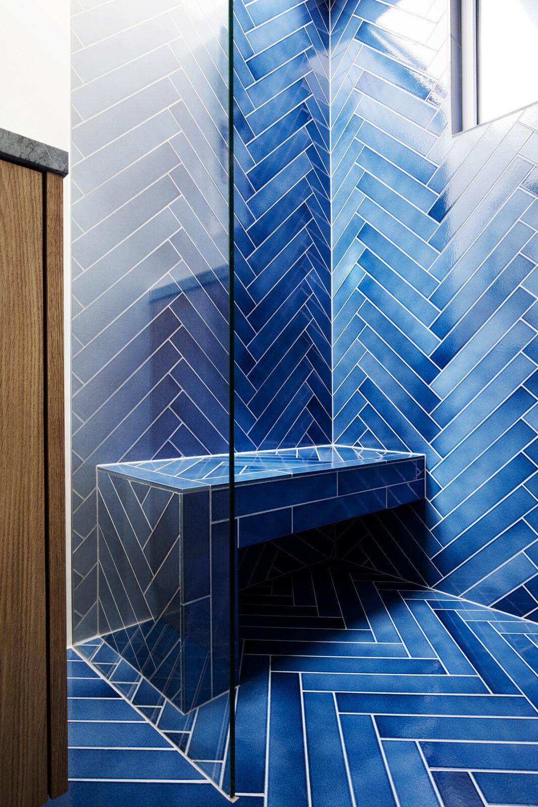 Cristalli Beautiful Bathrooms Blue Shower Tile Blue Bathroom Tile