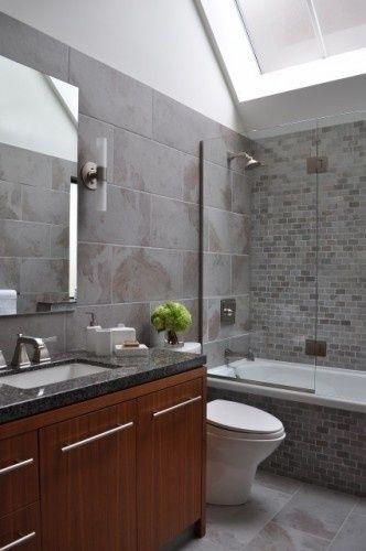 Shower Tile Ideas Brown Tile Bathroom Bathroom Interior Design Bathroom Design