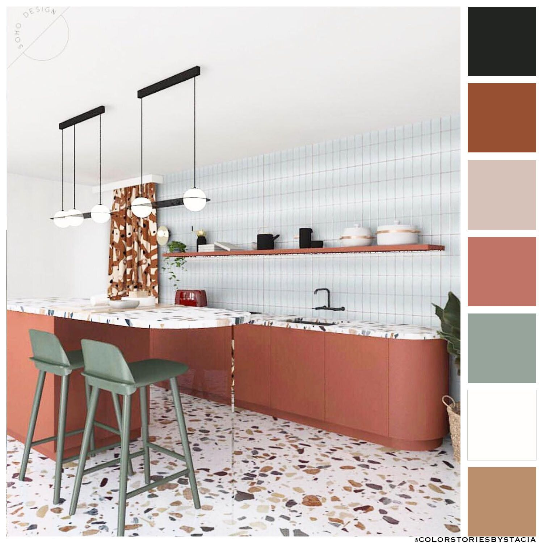Terrazzo Time Color Story   Kitchen design decor, Terrazzo kitchen ...