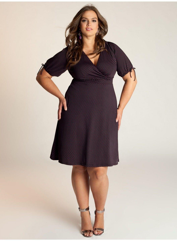 Makenna Plus Size Dress - Dresses by IGIGI   My Dream Closet   Pinterest