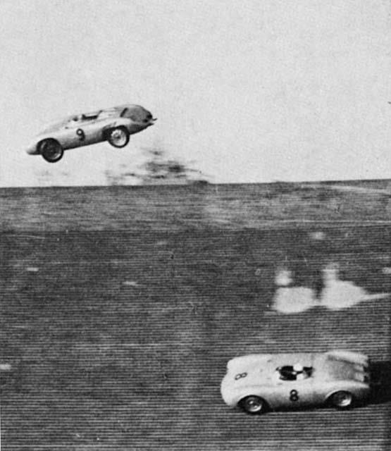 1956 Gp Of Berlin Avus Richard Von Frankenberg Fly Very
