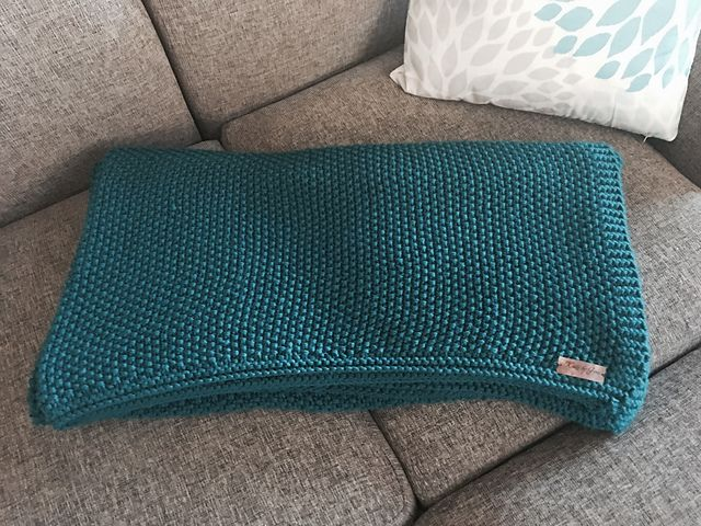 Ravelry: Pagoda Throw Blanket pattern by Gena Shaffer | For ...