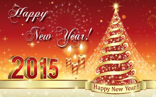 Happy new year greeting e card 2015 for sister happy new year happy new year greeting e card 2015 for sister m4hsunfo