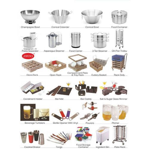 Kitchen tools equipment best kitchen design tools for Kitchen equipment list