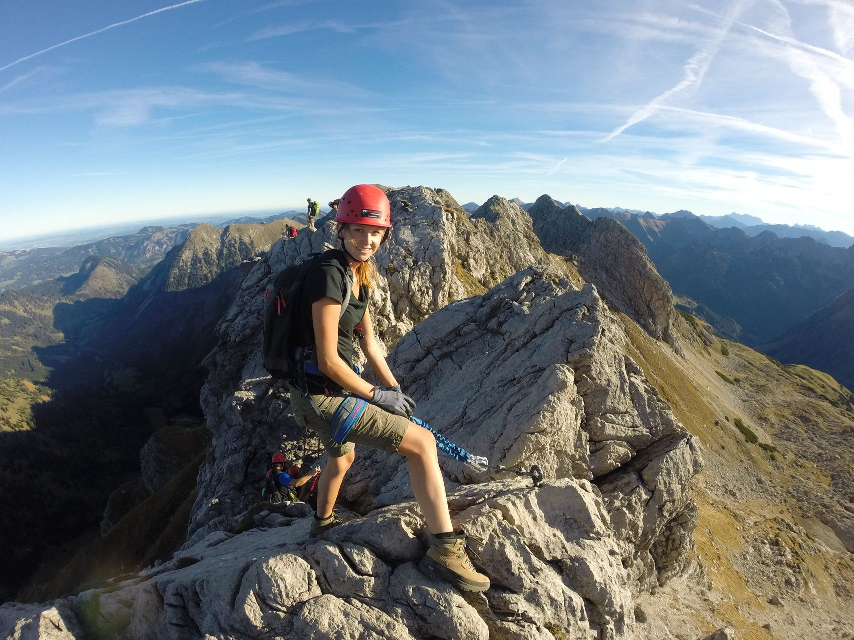 Klettersteig Allgäu : Salewa klettersteig bergführer allgäu iseler hindelanger