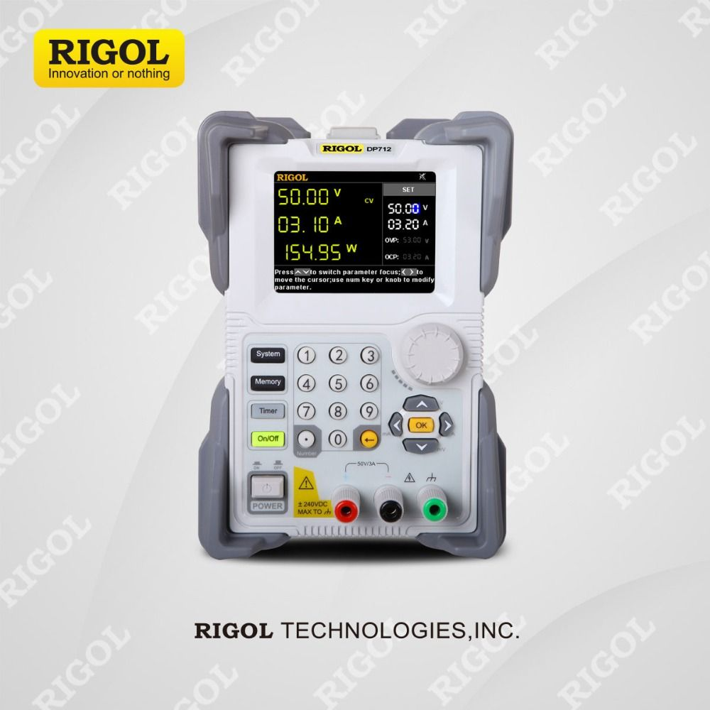 Rigol DP712 Programmable Linear DC Power Supply single channel 50V