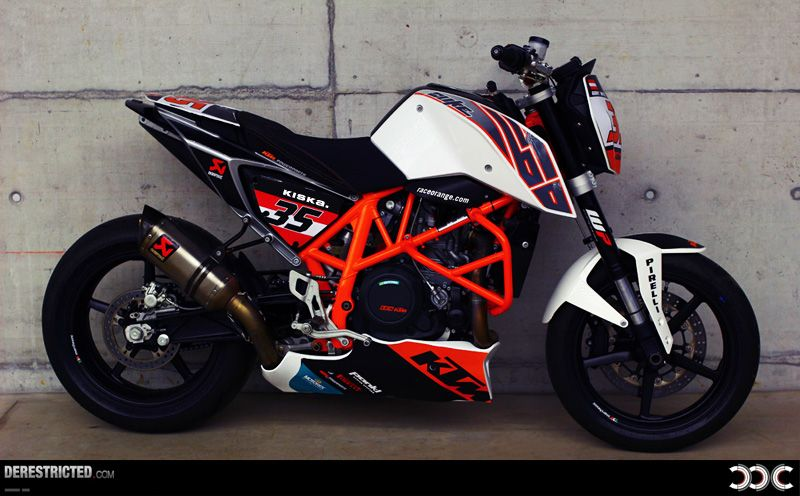 Ktm 690 Duke Ejc Race Bike Featured Derestricted Motori
