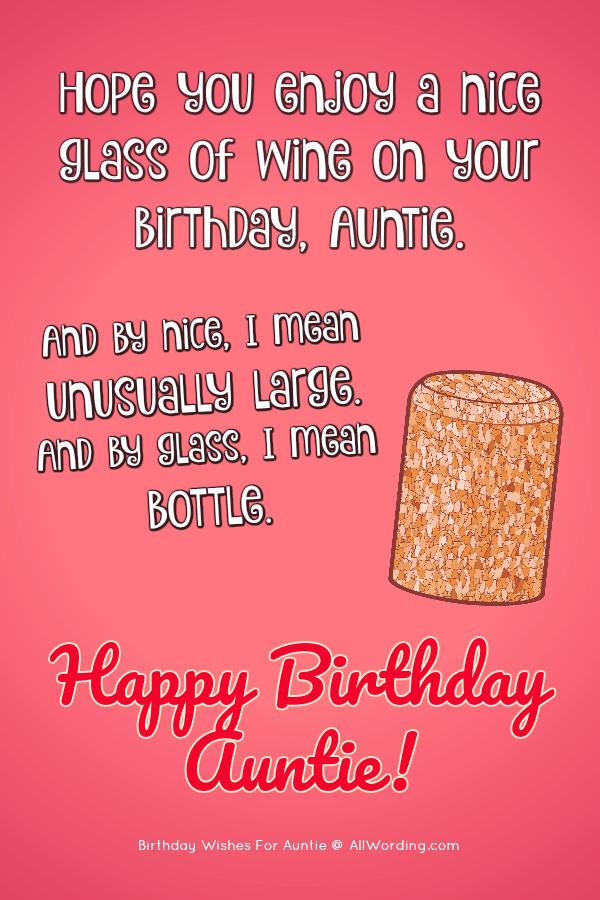 Happy Birthday Auntie 50 B Day Wishes For Your Beloved Aunt Happy Birthday Auntie Birthday Wishes For Myself Happy Birthday