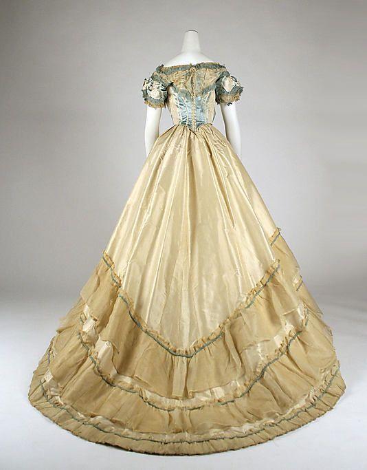 Evening dress 1870