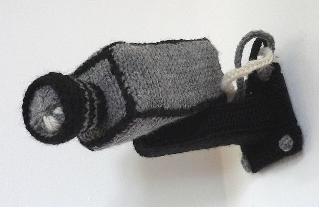 Ravelry: Security Camera pattern by Caro Bella