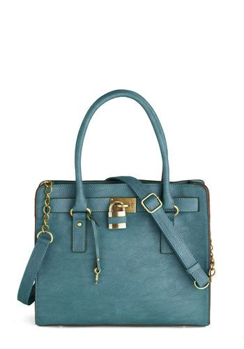 Full Course Load Bag in Matte Teal - 14 inch, @ModCloth