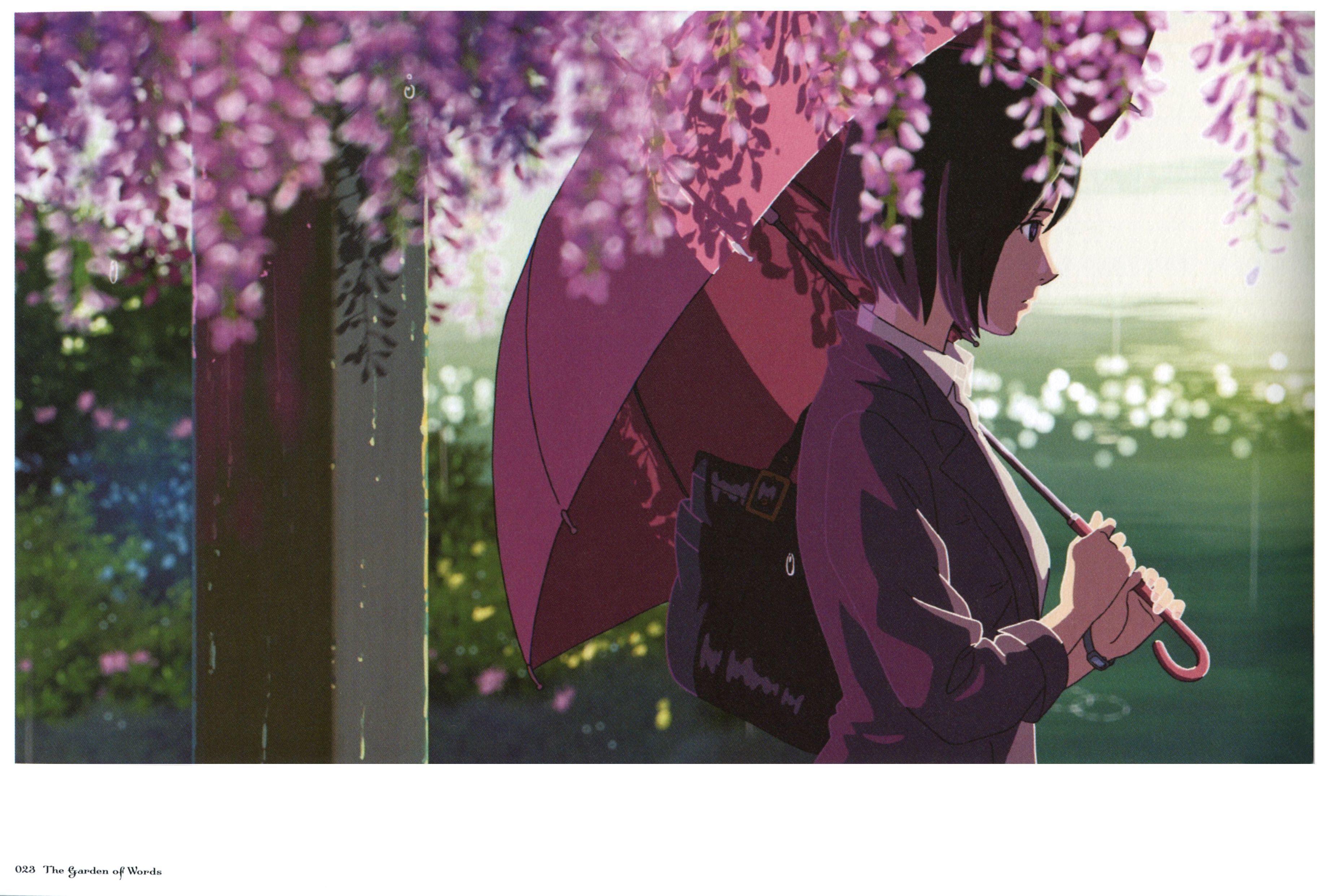 Error Minitokyo Jardin De Las Palabras Anime Romance Paisajes Anime