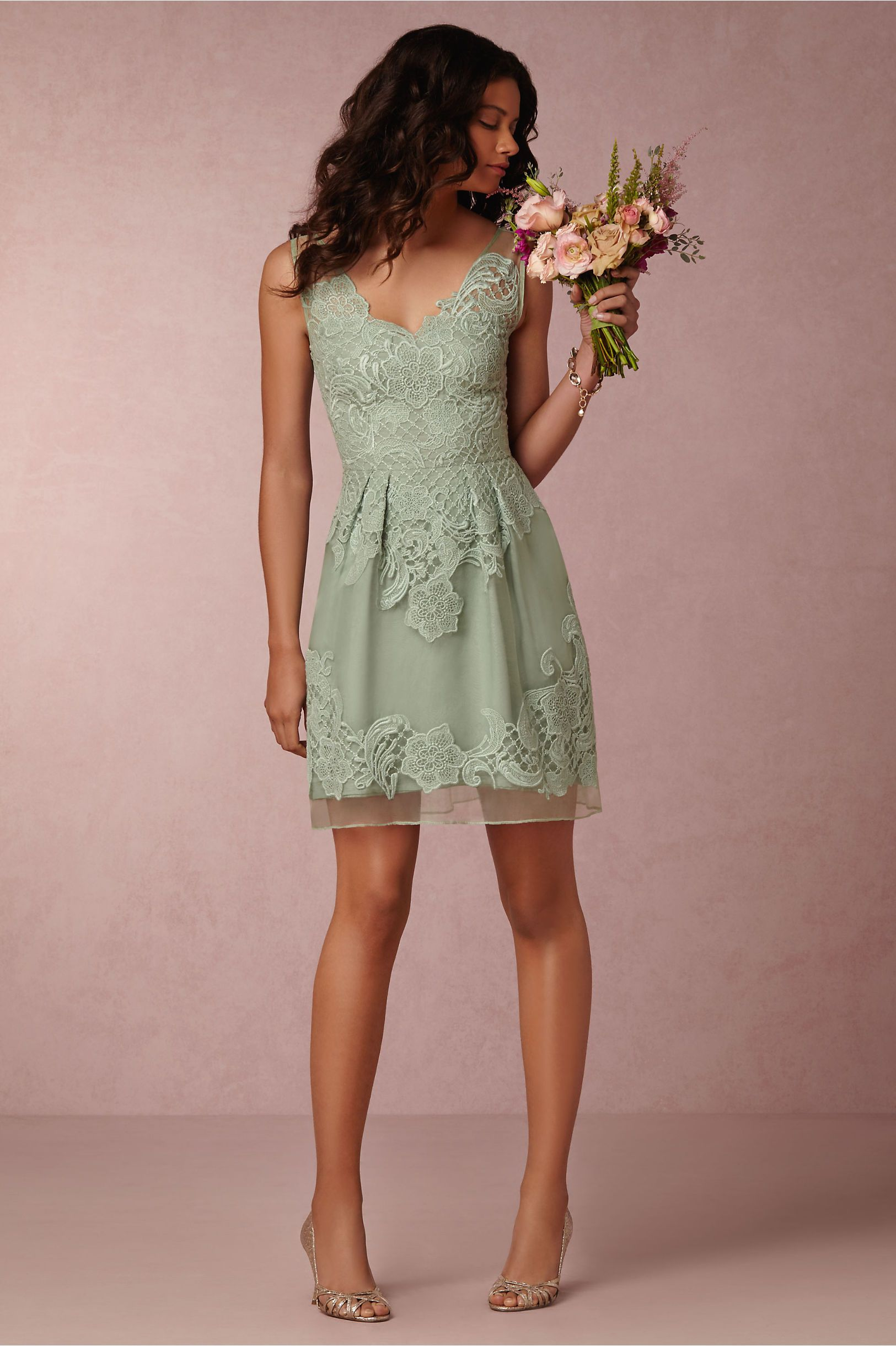 BHLDN Celestina Dress in Bridesmaids Bridesmaid Dresses Short at ...