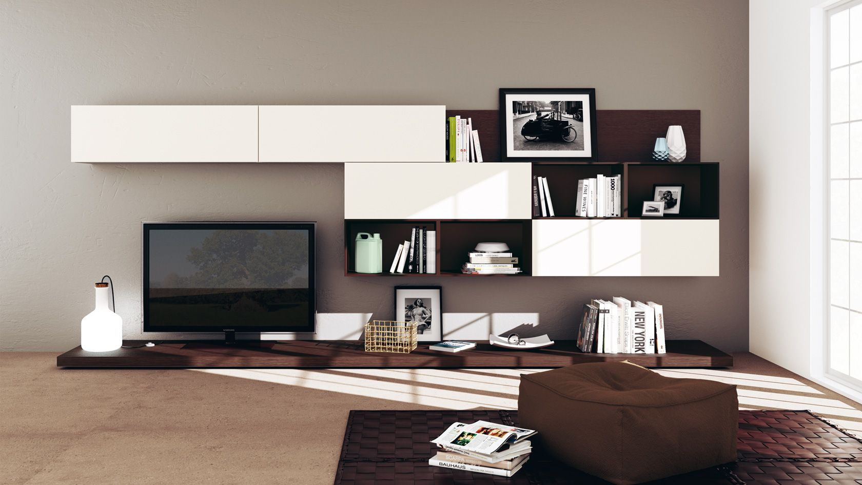 arredamento soggiorno feel e scenery | sito ufficiale scavolini ... - Arredamento Design Living