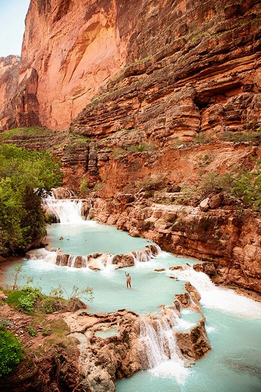 The Heaven That Is Havasupai Falls | Garden Betty #grandcanyon