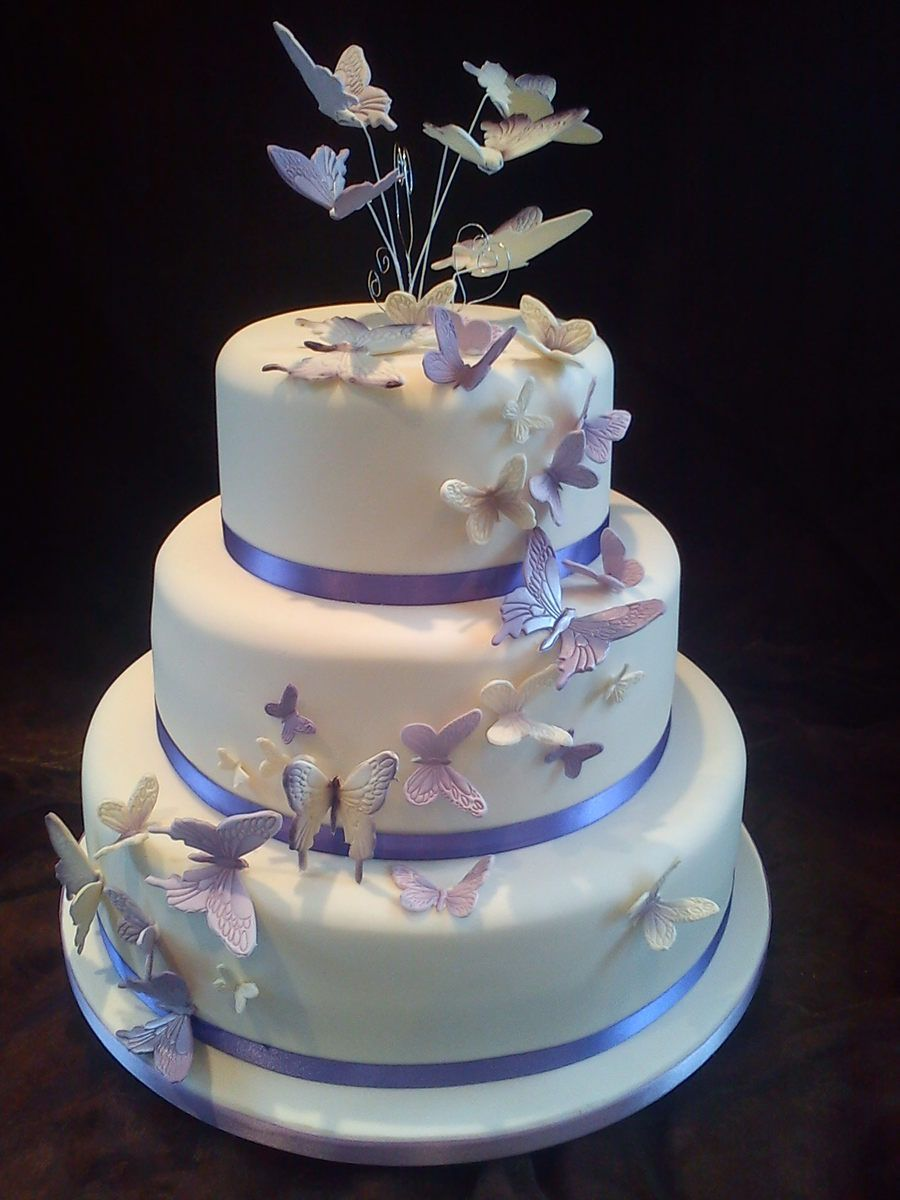Butterfly Wedding Cake Butterfly Wedding Cake Wedding Cake