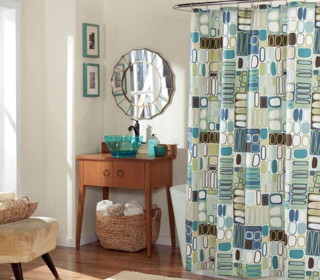 Imperial quincailleire rideau de douche de luxe blocs modernes en bleu bathroom salle de bain - Rideau douche luxe ...