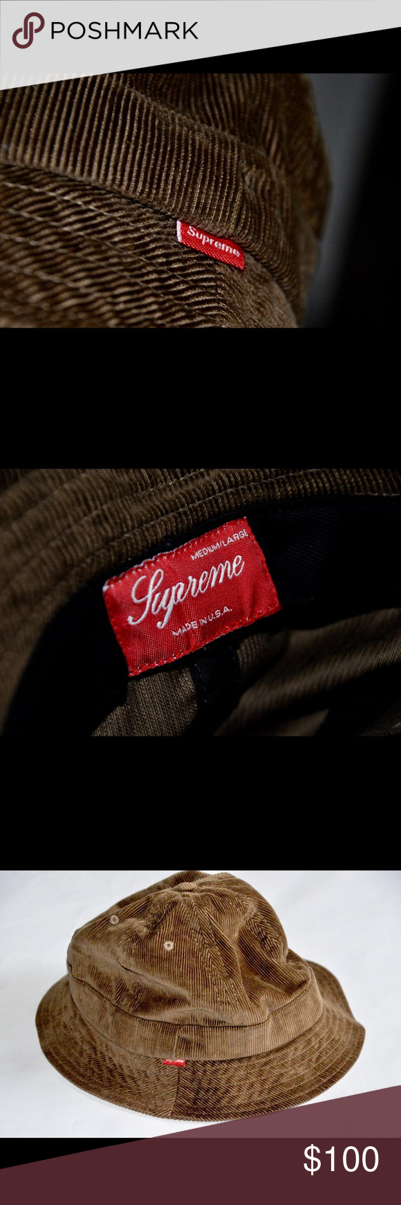 Supreme Corduroy Bucket Hat Rare Supreme Corduroy Bucket Hat Supreme  Accessories Hats 2f939c380d3