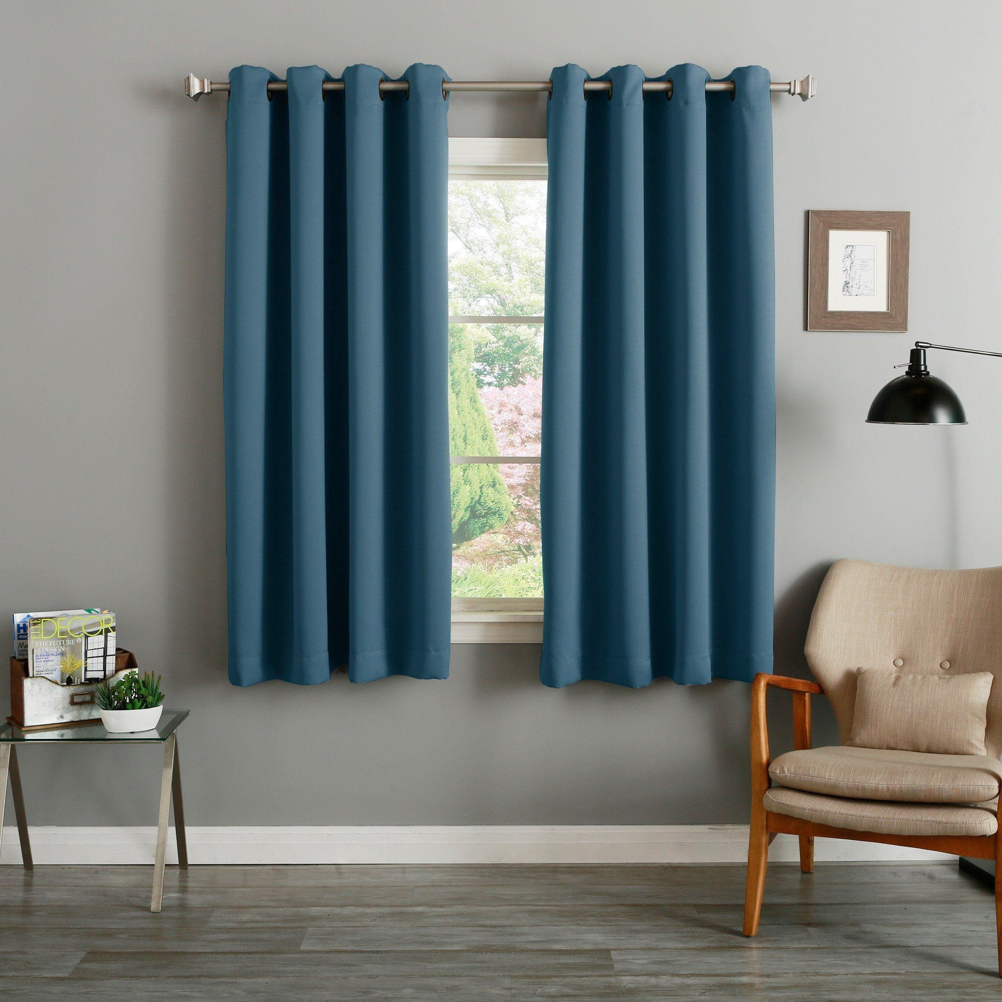 Willow Print Pinch Pleat Sheer Window Curtain Panel Panel Curtains Modern Home Furniture Curtains Living Room