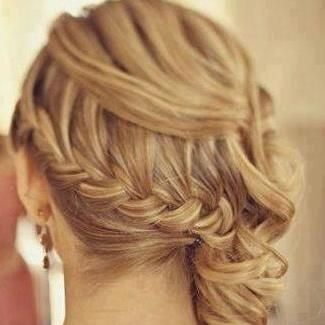 See More Curly Brown Hair Style For Ladies Braided Hairstyles For Wedding Hair Styles Wedding Hairstyles For Long Hair