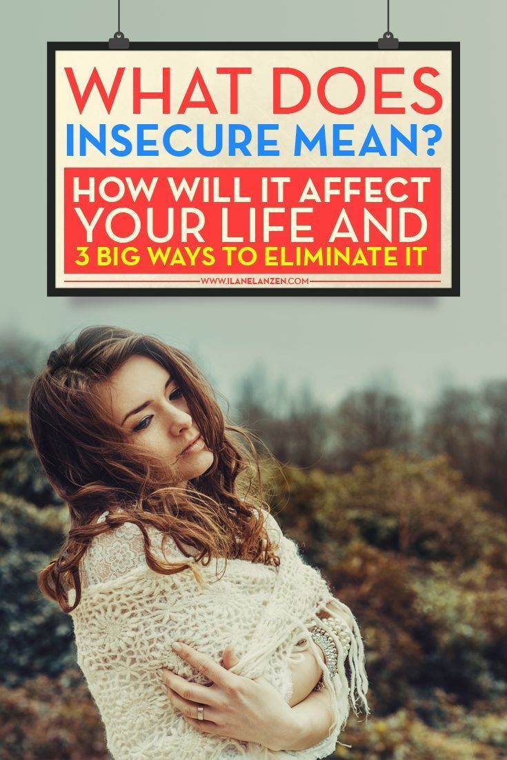 what does it mean to be insecure