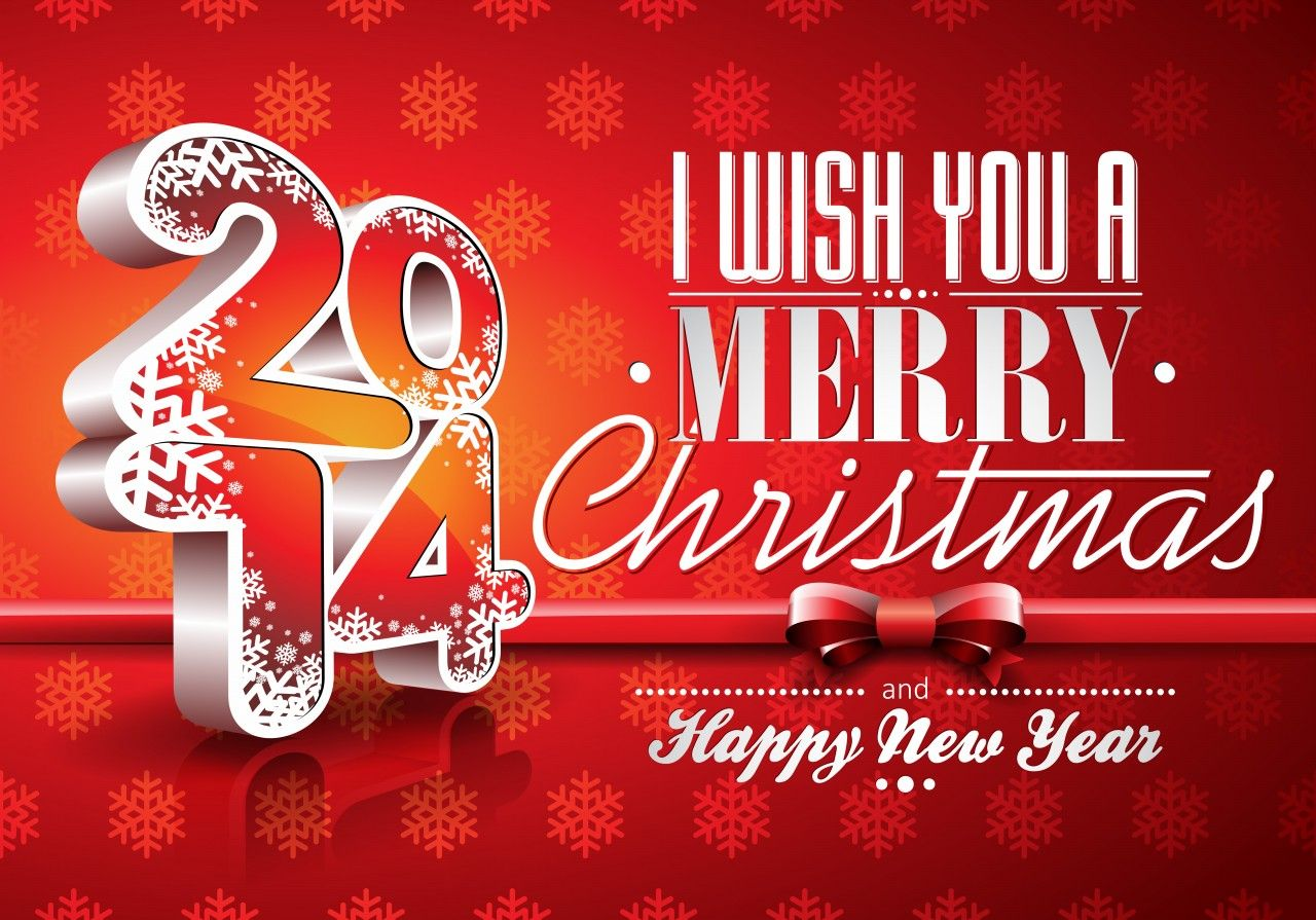 Wish you merry christmas and happy new year 2014 many 2014 happy new year cards free happy new year ecards happy new year greeting card wallpaper wallpapers x offers a wide range of new year wallpaper cards kristyandbryce Images