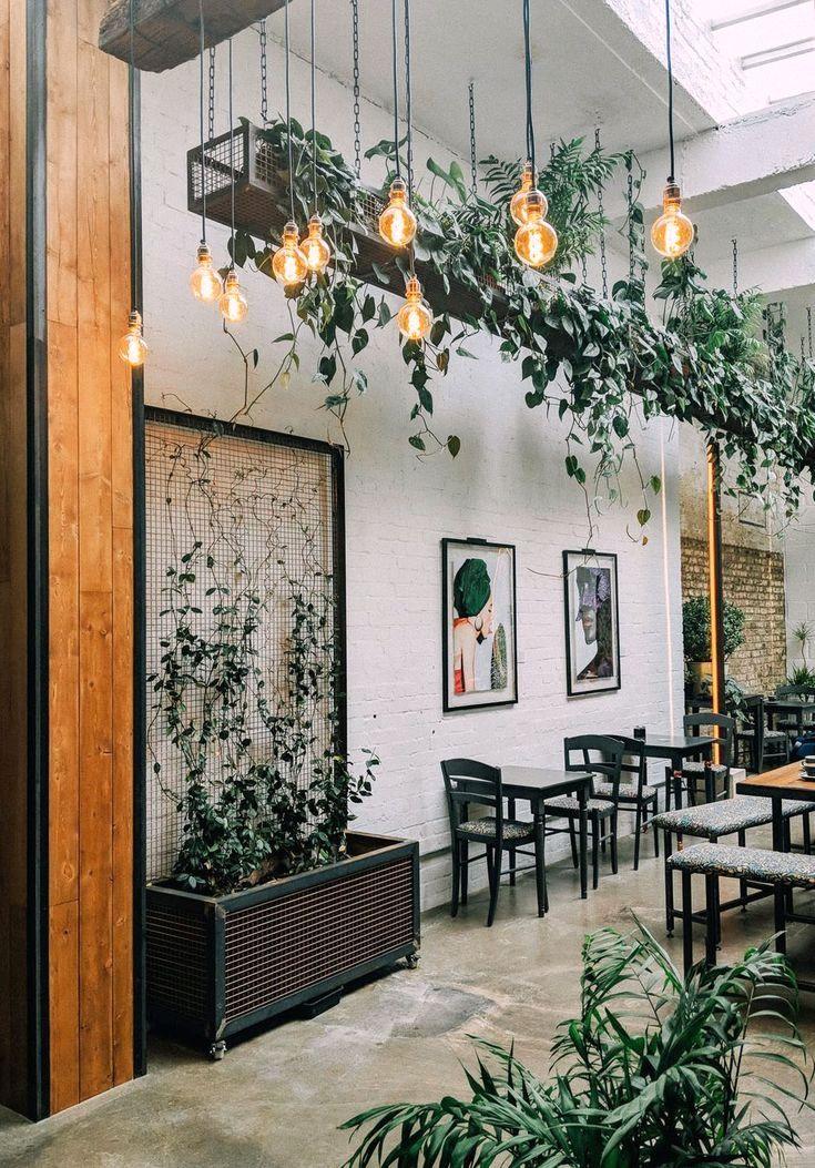 27 Interior Design Plants Inside House Pictures Interior Design Plants Cafe Decor Restaurant Interior Design